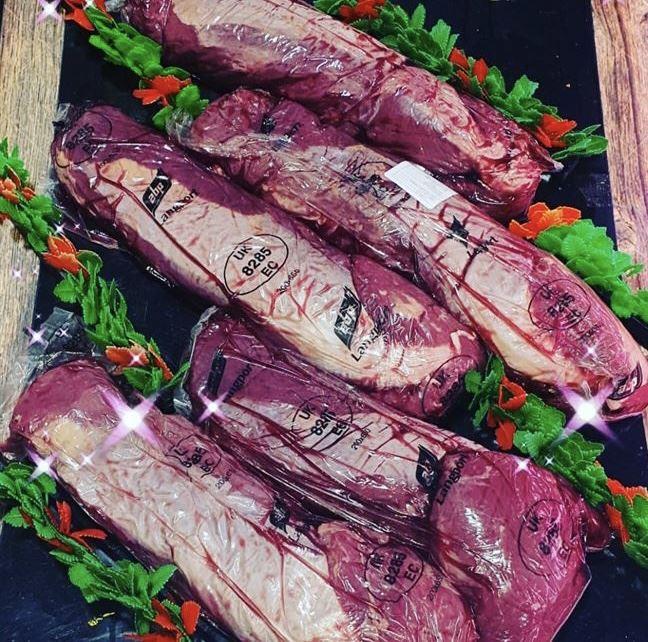 1 x Beef Fillet 1.8 k plus