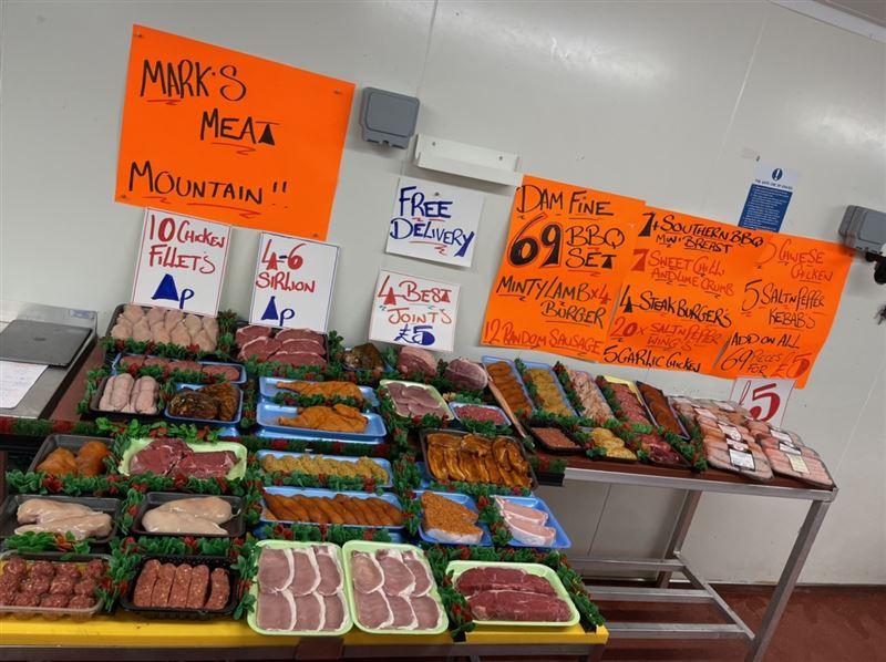 Marks mega meat mountain